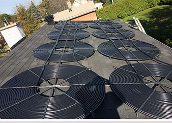 Chauffe piscine solaire laurendeau chauffage capteur for Chauffage piscine quebec