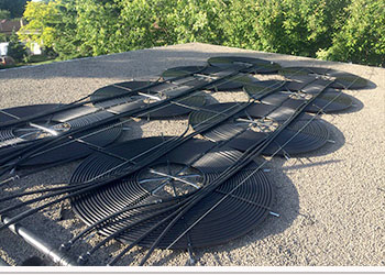 Chauffe piscine solaire laurendeau chauffage capteur for Chauffe eau bois piscine