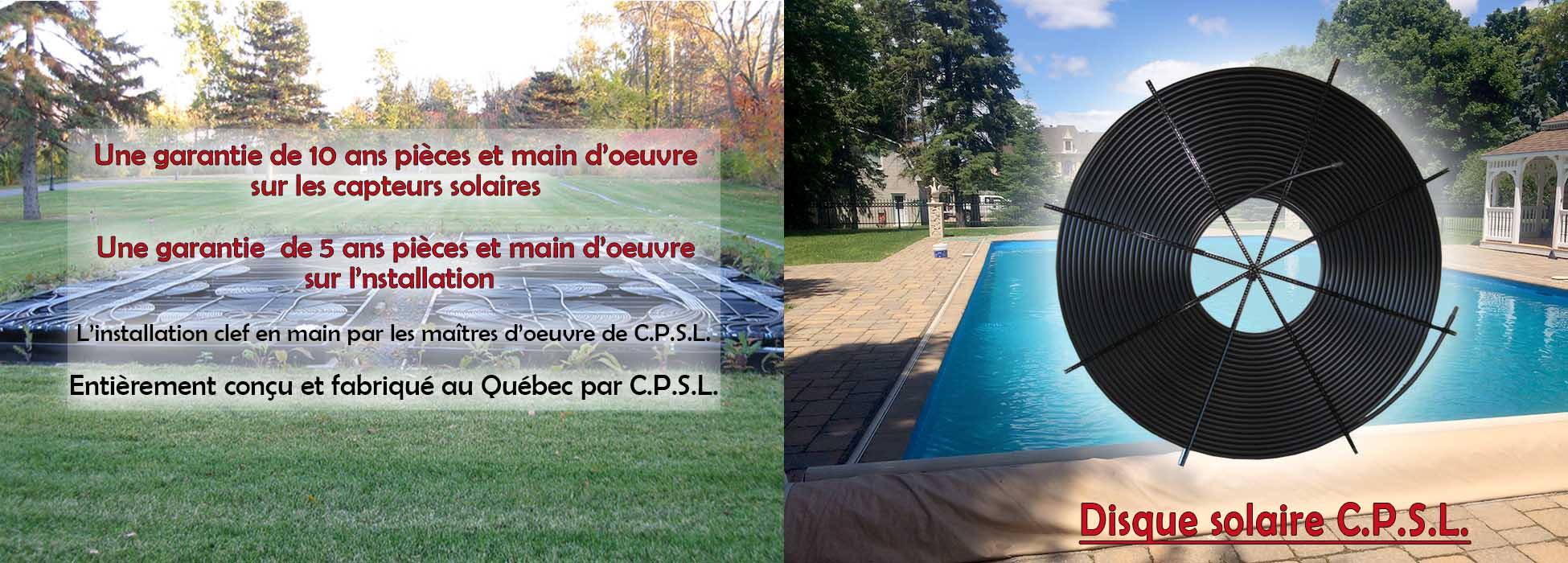 Chauffe piscine solaire laurendeau chauffage capteur for Chauffe piscine solaire club piscine